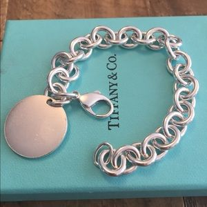 Tiffany & co. Round Tag Bracelet